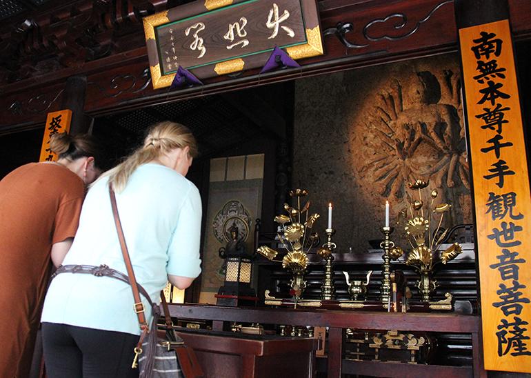 Japan's Oldest Stone Buddha Statue