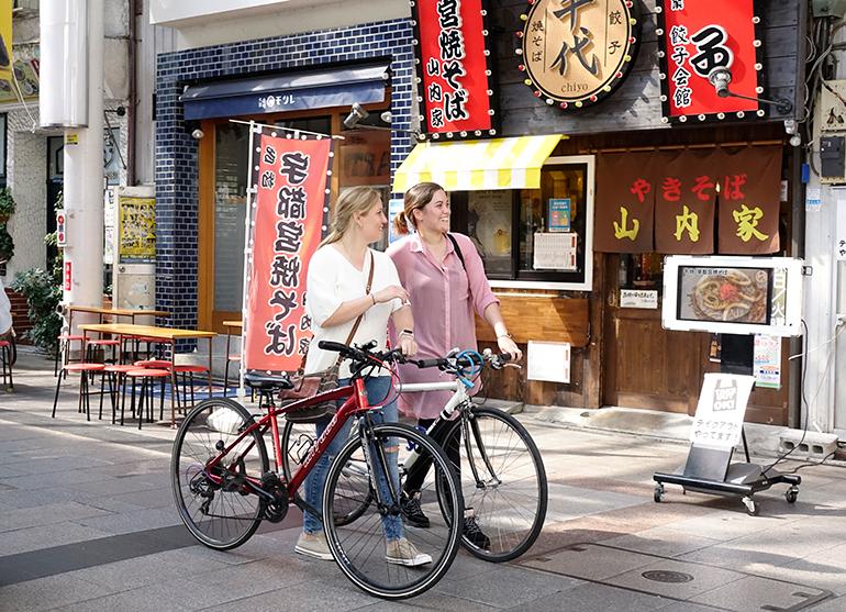 宮自行車站