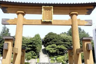 參觀二荒山神社和篠原故居